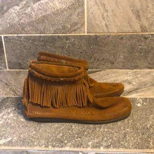 Minnetonka ankle booties